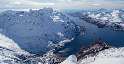 Skipass aux Lofoten : J5, point culminant