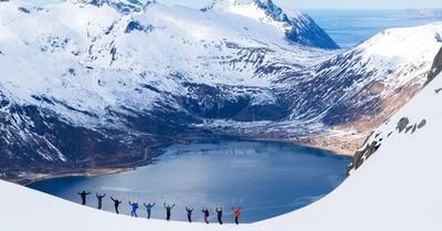 Skipass aux Lofoten : J6, de l'autre côté du fjord