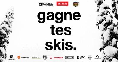 Gagne tes skis 2016 : 10 paires en jeu