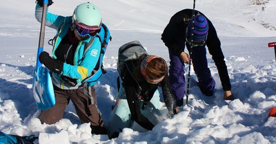 Avalanches et sécurité : formations de l'ANENA