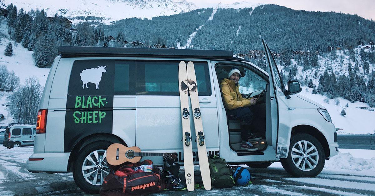 le blog news ski snowboard blacksheep van. Black Bedroom Furniture Sets. Home Design Ideas