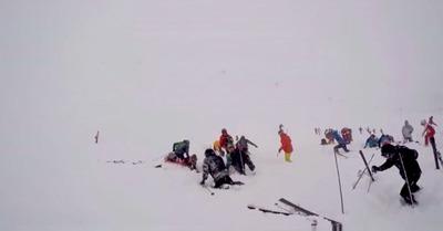 Vidéo : quand l'aérosol a touché la piste de Tignes