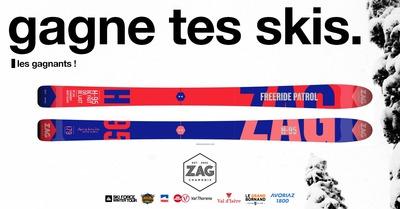 [Gagne tes skis] Le Gagnant ZAG