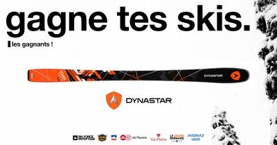 [Gagne tes skis] Le gagnant Dynastar