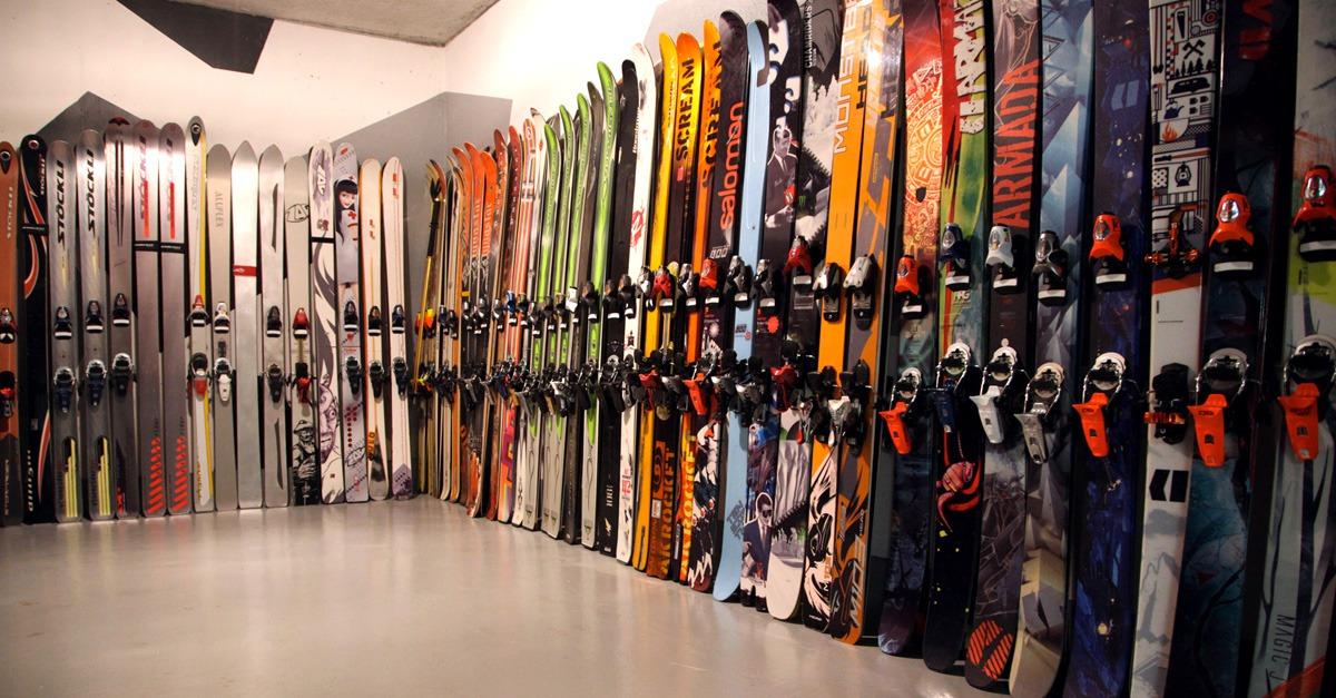 Des skis de légende