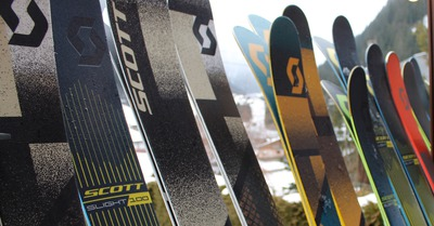 Skis Scott 2018