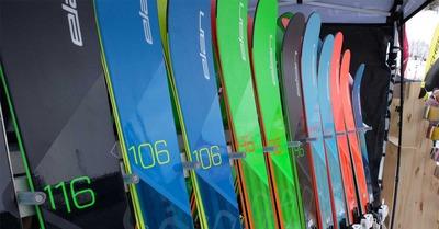 Skis Elan, Roxa et Uvex 2018