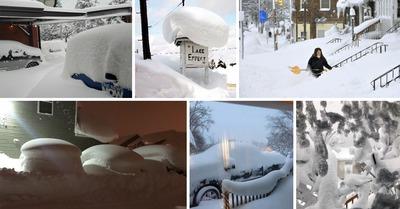 Tempête de neige aux États-Unis