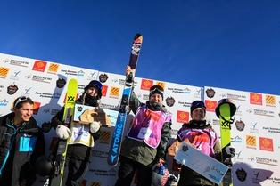 Tess Ledeux remporte la coupe du monde de Font-Romeu