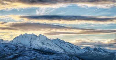 Neige et soleil : 23 janvier