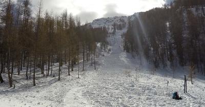 Récit d'avalanche : Abriès, 7 mars 2017
