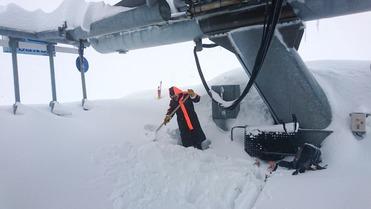 Pyrénées : plus d'1m de neige fraîche