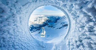 Grand format : Skipass dans l'Oberland bernois