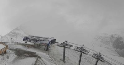 Un passage en octobre sous la neige