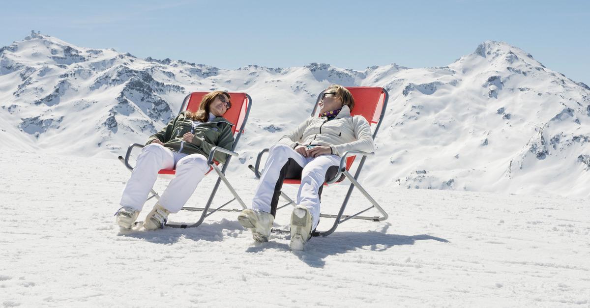 Pourquoi venir skier à Val d'Isère au printemps?