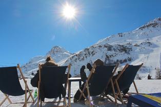 Val d'Isère au printemps, c'est magique !