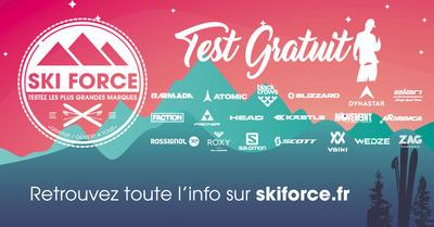 Ski Force : 3 dates pour tester les nouveaux skis
