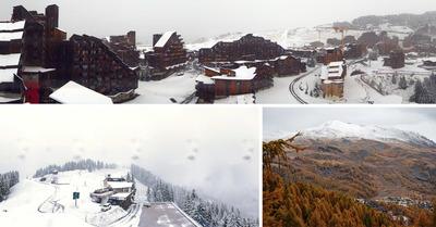 La neige en photos