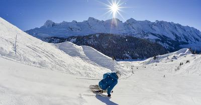 Le Grand-Bornand :du ski, oui… mais arty !