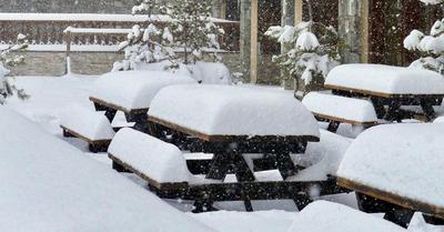 Week-end entre neige et tempête