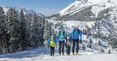 Combloux, un spot unique pour le ski de randonnée