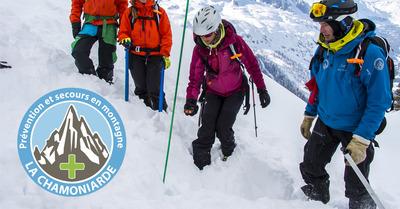 Ateliers sauvetage avalanche : La Chamoniarde