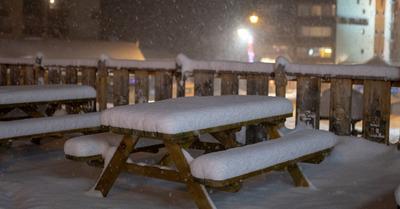Premières chutes de neige de l'année !
