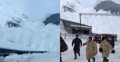Avalanche : coup de frayeur à Davos