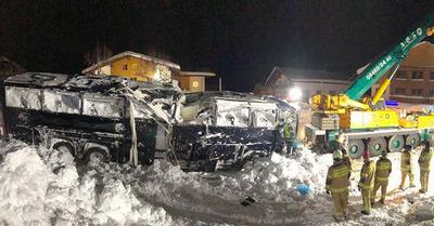 Autriche : une avalanche atteint un hôtel