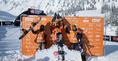FWT 2019 : Doublé français pour le snowboard