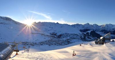 Au programme, de la neige et du soleil !