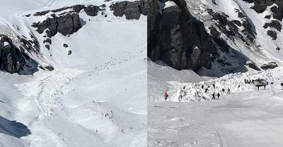 Avalanche à Crans-Montana, plusieurs personnes ensevelies