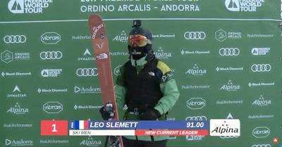 Léo Slemett s'impose en Andorre