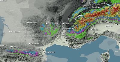 Météo : Chutes de neige toute la semaine en montagne