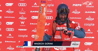 FWT : Wadeck Gorack remporte Verbier