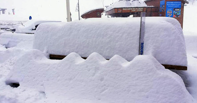 80 cm de neige en plus et25°C en moins