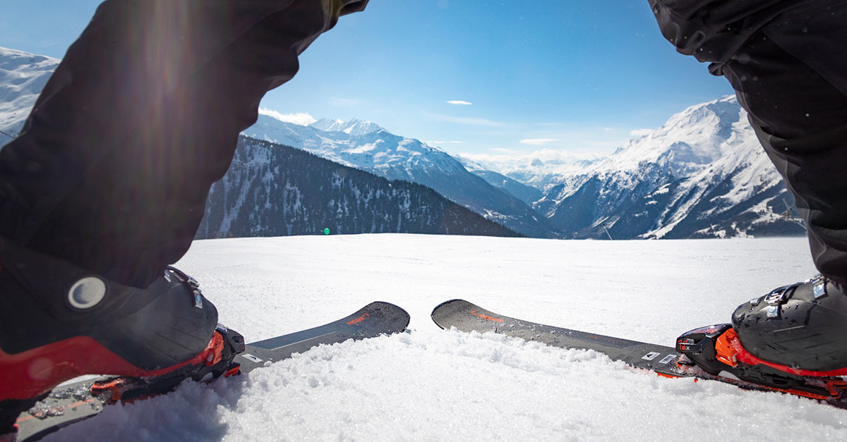 Apprendre à skier au Printemps