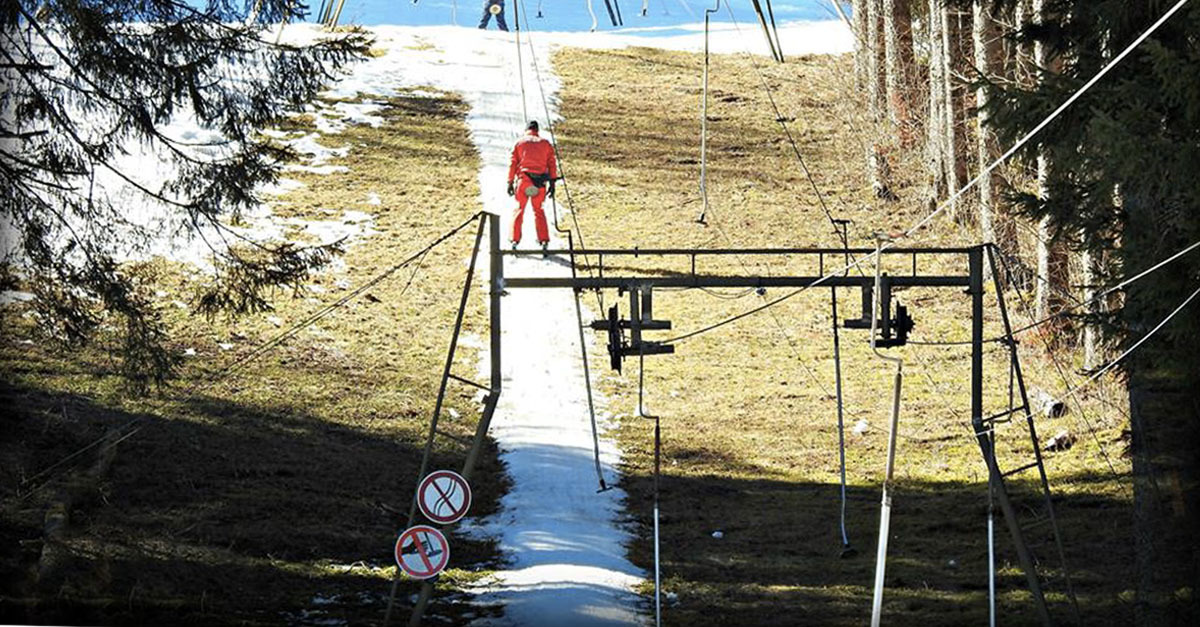 Skiera-t-on encore à la fin du siècle ?