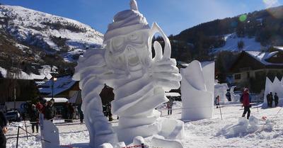 Valloire, capitale de l'art éphémère en montagne