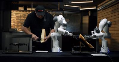 Pour cet hiver, le robot raclette