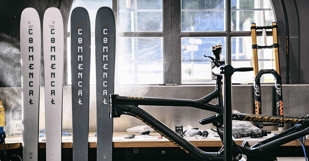 Test Privé : skis Commencal