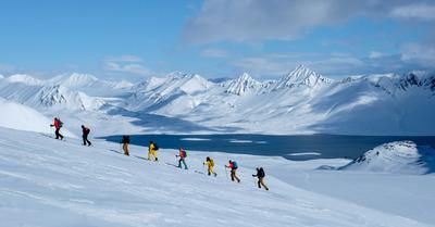 Ski de rando au Svalbard