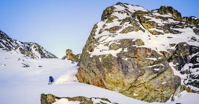 Skipass (en peaux de phoque) dans le Val d'Hérens (2/2)