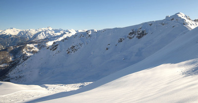 Une avalanche atteint un télésiège à Serre-Chevalier