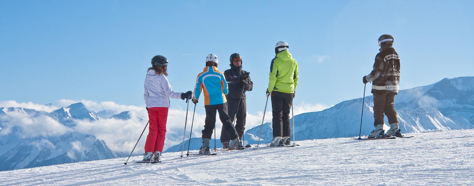 Cours de ski pour débutants