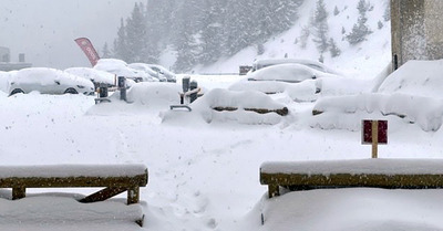 Grosses chutes de neige en cours & fort risque d'avalanches
