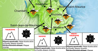 Avalanches : vigilance haute sur les Alpes