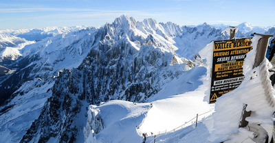 Chamonix-Mont-Blanc : tentez l'expérience Vallée Blanche