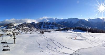 De la neige jusqu'à basse altitude, enfin !