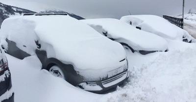 Jusqu'à 80cm de neige tombés, et ce n'est pas fini